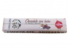 CHOCOLATE CON LECHE Y AVELLANAS 500G