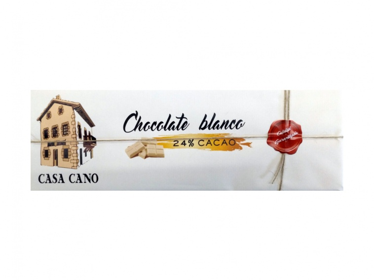 CHOCOLATE BLANCO 24% CACAO 750G