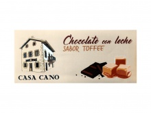 CHOCOLATE CON LECHE SABOR A TOFFEE