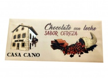 CHOCOLATE CON LECHE SABOR CEREZA